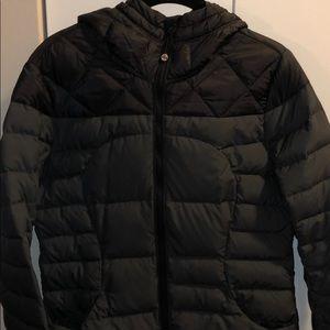 Lululemon Black & Gray Puffer Coat,